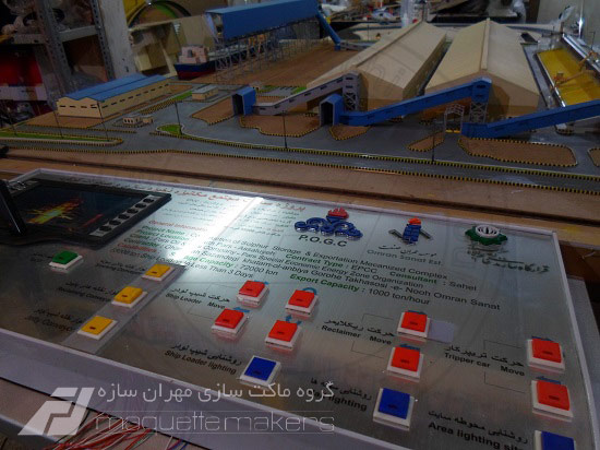 ساخت ماکت های اینتراکتیو و متحرک