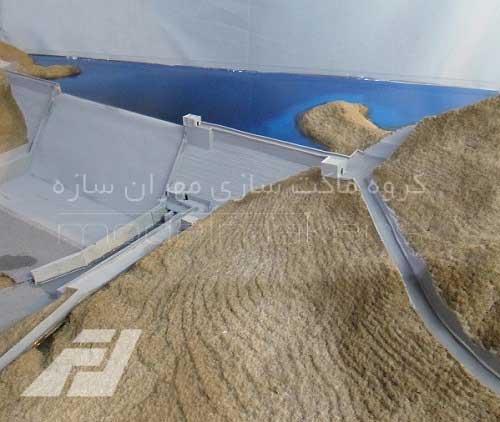 ساخت ماکت سد