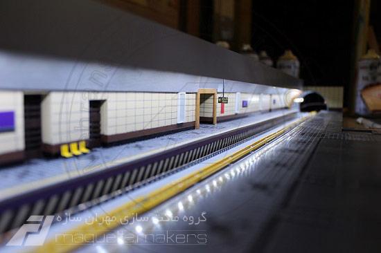 ماکت خط 7 مترو
