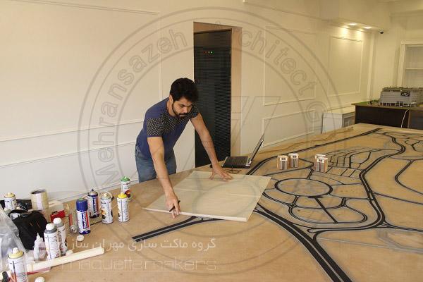 شرکت ماکت سازی مهران سازه