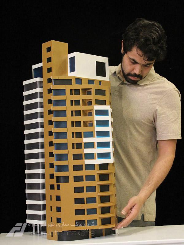 ماکت سازه و ساختمان